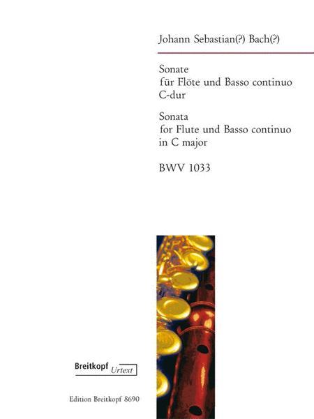 Sonata in C major BWV 1033