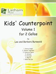 Kids' Counterpoint: Volume 1 for 2 Cellos