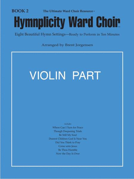 Hymnplicity Ward Choir, Vol. 2 - Violin