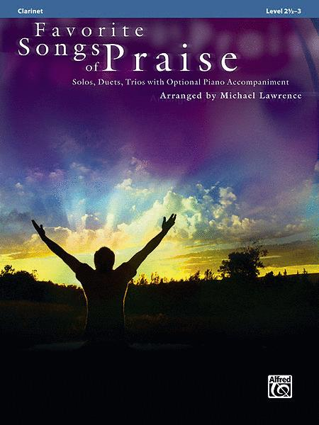 Favorite Songs of Praise (Solo-Duet-Trio with Optional Piano)