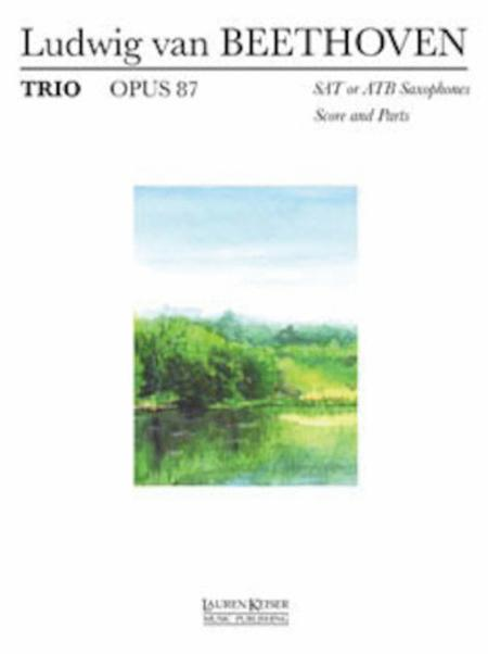 Trio Op. 87 (SAT or ATB)