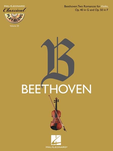 Two Romances for Violin, Op. 40 in G & Op. 50 in F