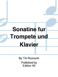 Sonatine fur Trompete und Klavier
