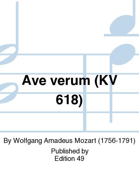 Ave verum (KV 618)
