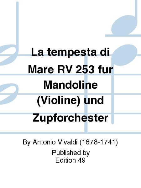 La tempesta di Mare RV 253 fur Mandoline (Violine) und Zupforchester