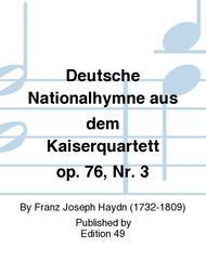 Deutsche Nationalhymne aus dem Kaiserquartett op. 76, Nr. 3