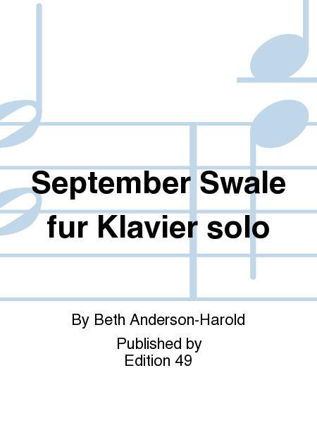September Swale fur Klavier solo