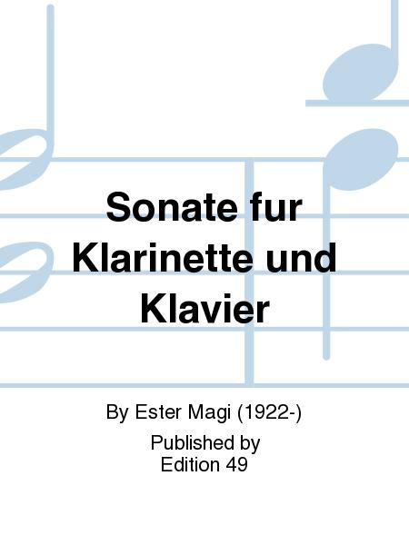 Sonate fur Klarinette und Klavier