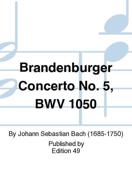 Brandenburger Concerto No. 5, BWV 1050