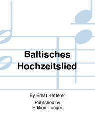 Baltisches Hochzeitslied