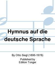 Hymnus auf die deutsche Sprache