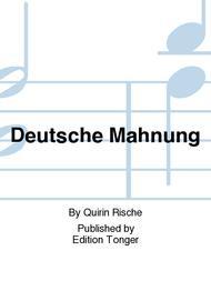 Deutsche Mahnung