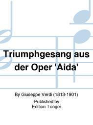 Triumphgesang aus der Oper 'Aida'