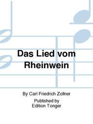 Das Lied vom Rheinwein