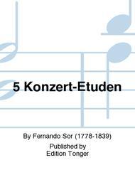 5 Konzert-Etuden