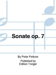 Sonate op. 7