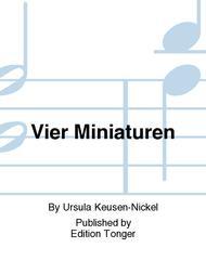 Vier Miniaturen