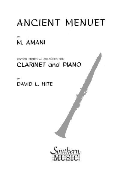 Ancient Menuet (Minuet)