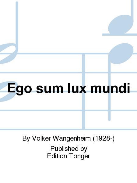 Ego sum lux mundi
