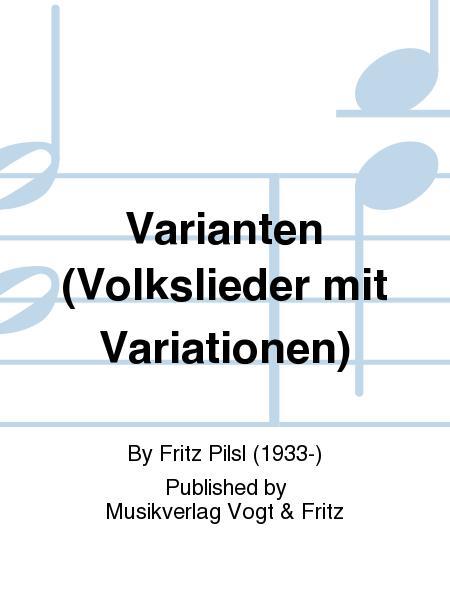 Varianten (Volkslieder mit Variationen)