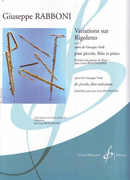 Variations Sur Rigoletto Sheet Music By Giuseppe Rabboni Sheet
