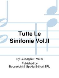 Tutte Le Sinifonie Vol.II