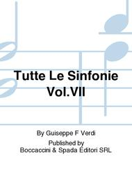 Tutte Le Sinfonie Vol.VII