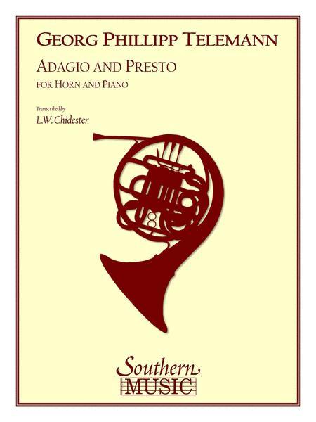 Adagio and Presto
