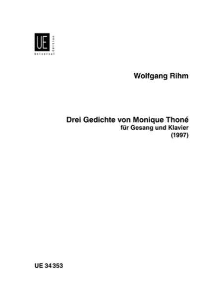3 Gedichte von Monique Thone