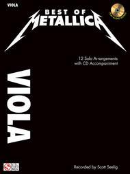 Best of Metallica for Viola