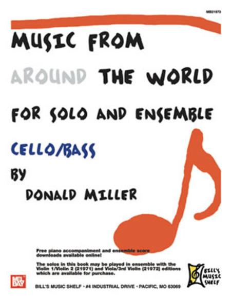 music from around the world solo ensemble cello bass