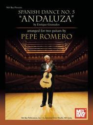 Enrique Granados Danza Espanola No.5 for Guitar Sheet Music Book