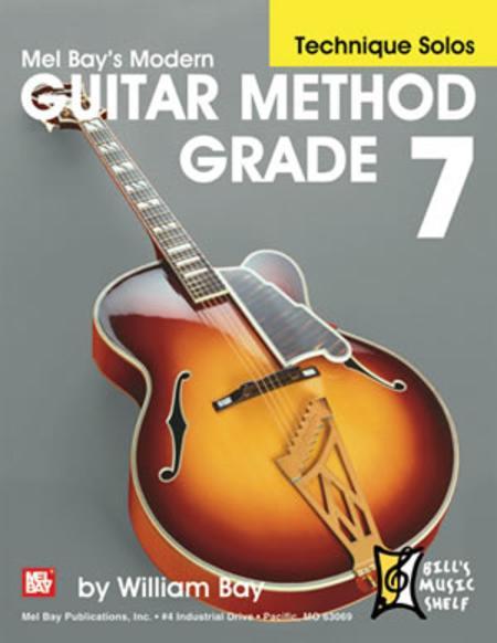 Modern Guitar Method Grade 7, Technique Solos