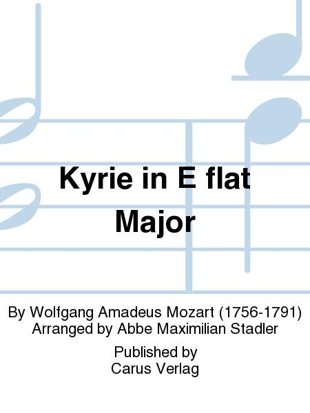 Kyrie in E flat Major (Kyrie in Es)