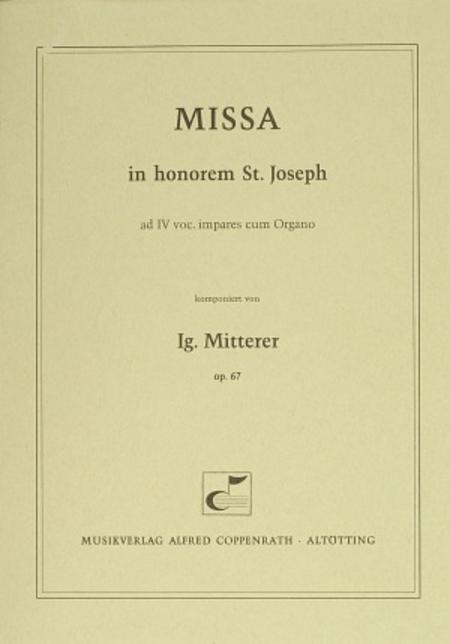 Missa in honorem S. Joseph