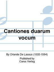 Cantiones duarum vocum