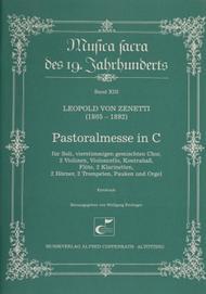 Pastoralmesse in C