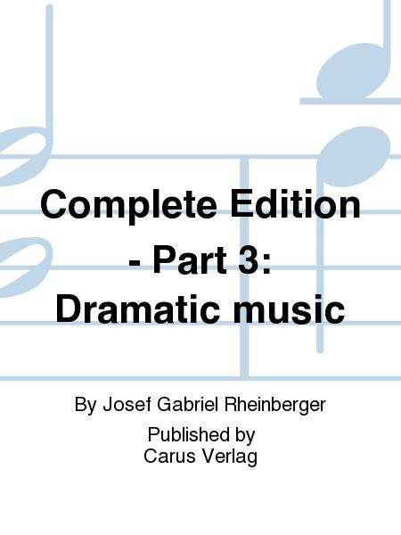 Complete Edition - Part 3: Dramatic music