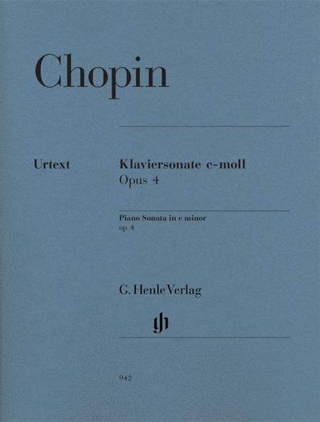 Piano Sonata in C minor, Op. 4