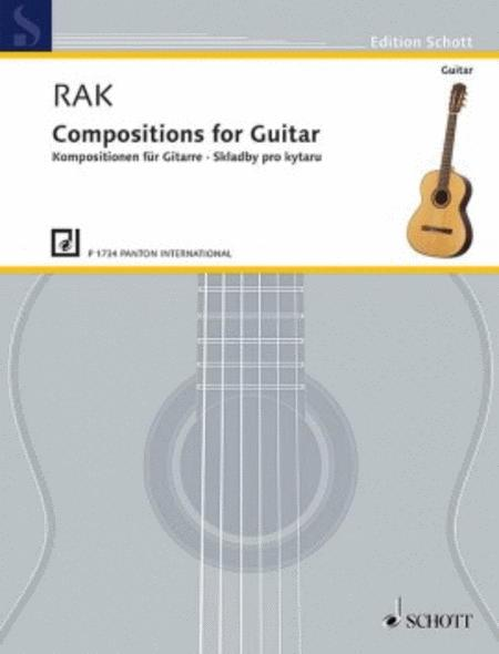 Compositions for Guitar