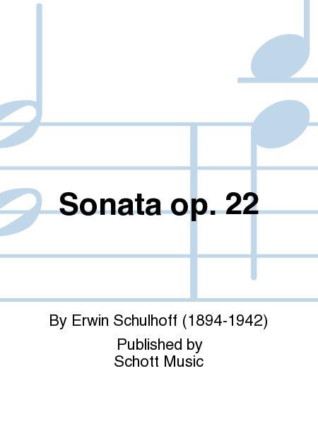 Sonata op. 22