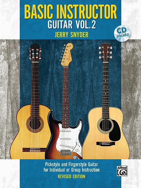 Basic Instructor Guitar, Book 2