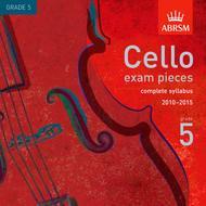 Cello Exam Pieces from 2010 - Grade 5 (CD)