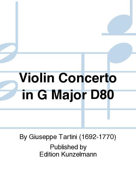 Violin Concerto in G Major D80