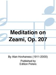 Meditation on Zeami Op. 207