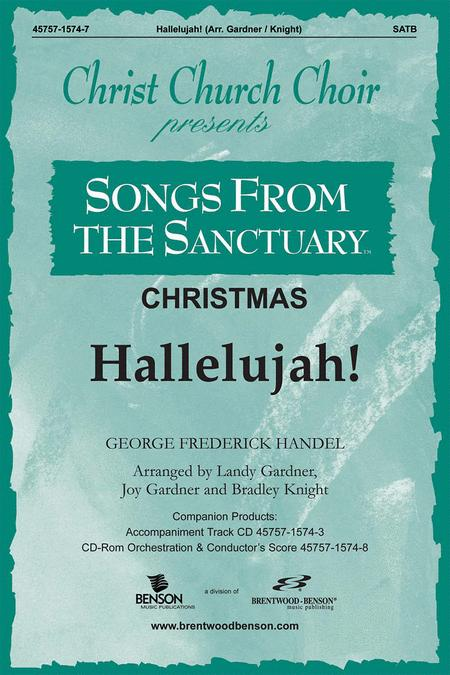 Hallelujah Chorus (Orchestra Parts and Conductor's Score, CD-ROM)