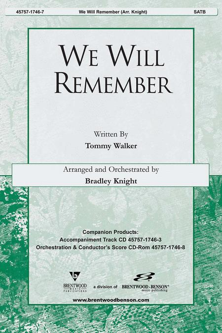 We Will Remember (Anthem)