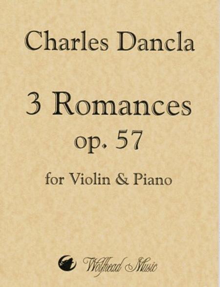 3 Romances, op. 57