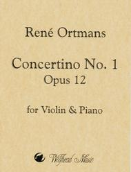 Concertino No. 1 in A Minor, op. 12