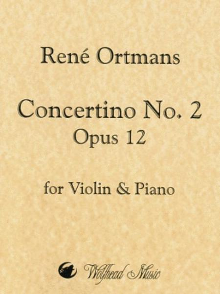 Concertino No. 2 in D Major, op. 14